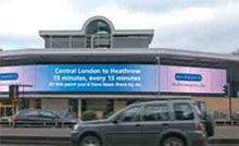 Targeting drivers with a digital OOH campaign proved effective for Heathrow Express