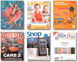 Wide reach: Customer magazines include content that extends beyond a brand's offer