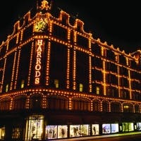 Harrods: Offers an honours degree in sales with Anglia Ruskin University
