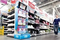 JML: In-store videos are tailored to specific retail environments