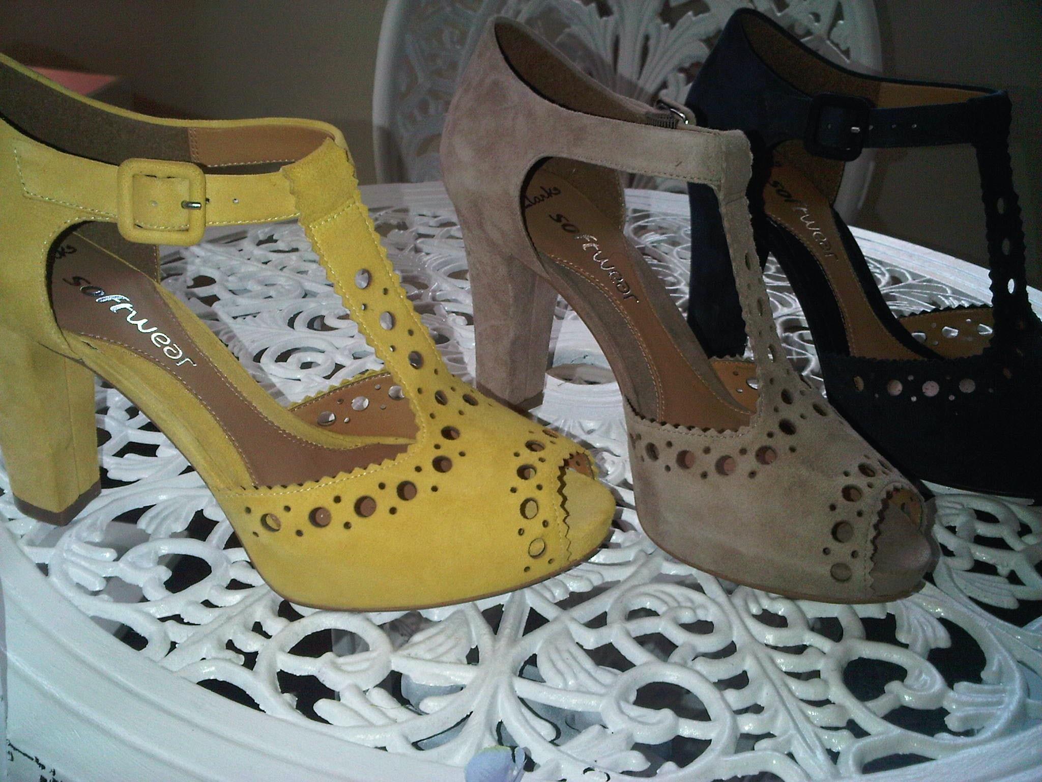 Clarks TBar heels