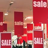 high street sales