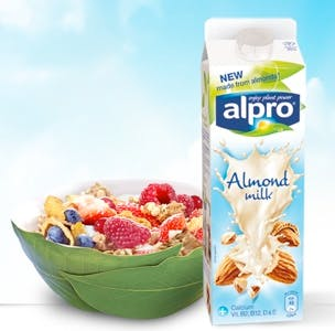 Alpro dairy alternative