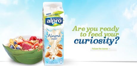Alpro non-dairy alternative