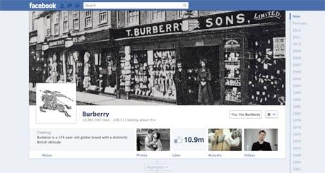 BurberryFacebook