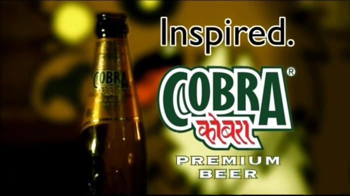 Cobra Beer Pic