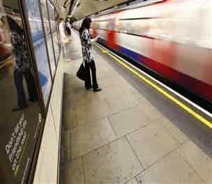 London Underground Platform