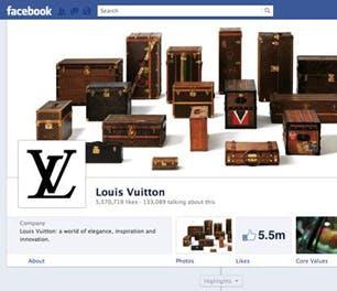 Facebook Louis Vuitton