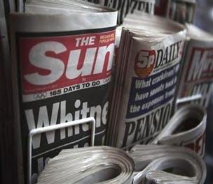 Newspaper Display