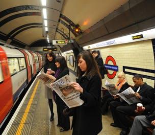 Tube newspapers