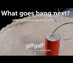 Giffgaff Big Bang Theory Sponsorship