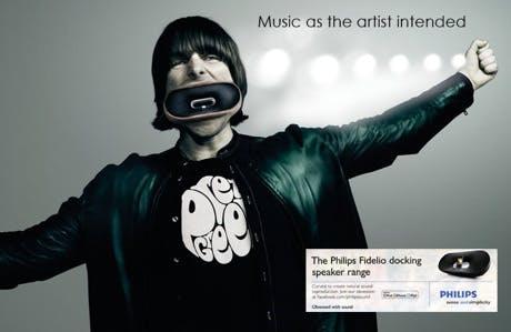 Philips Liam Gallagher ad