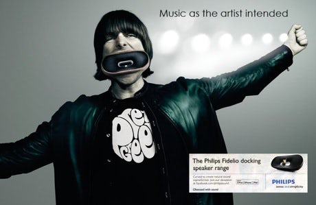 Philips Liam Gallagher ad