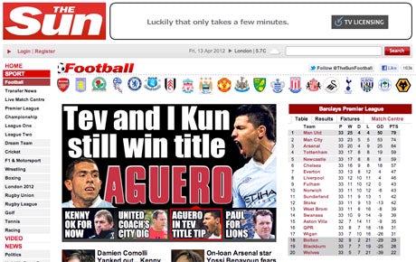 Sun to relaunch football site – Marketing Week