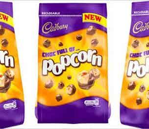 Cadbury Popcorn