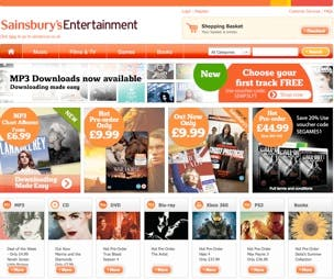 Sainsbury's music download