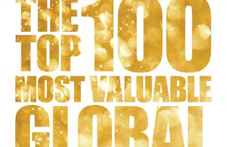 Top 100 most valuabel global brands