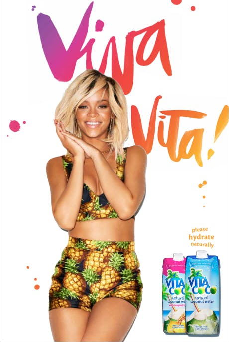 Rihanna Vita Coco