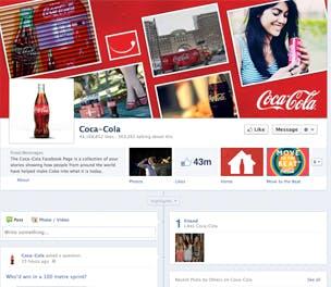 Coca Cola Facebook