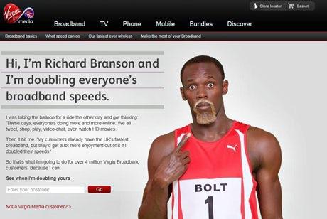 Virgin Media's Usain Bolt online ads banned – Marketing Week