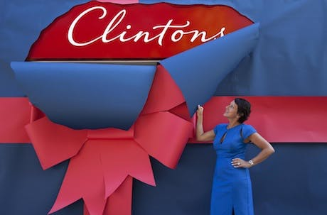 Clinton Cards rebrands
