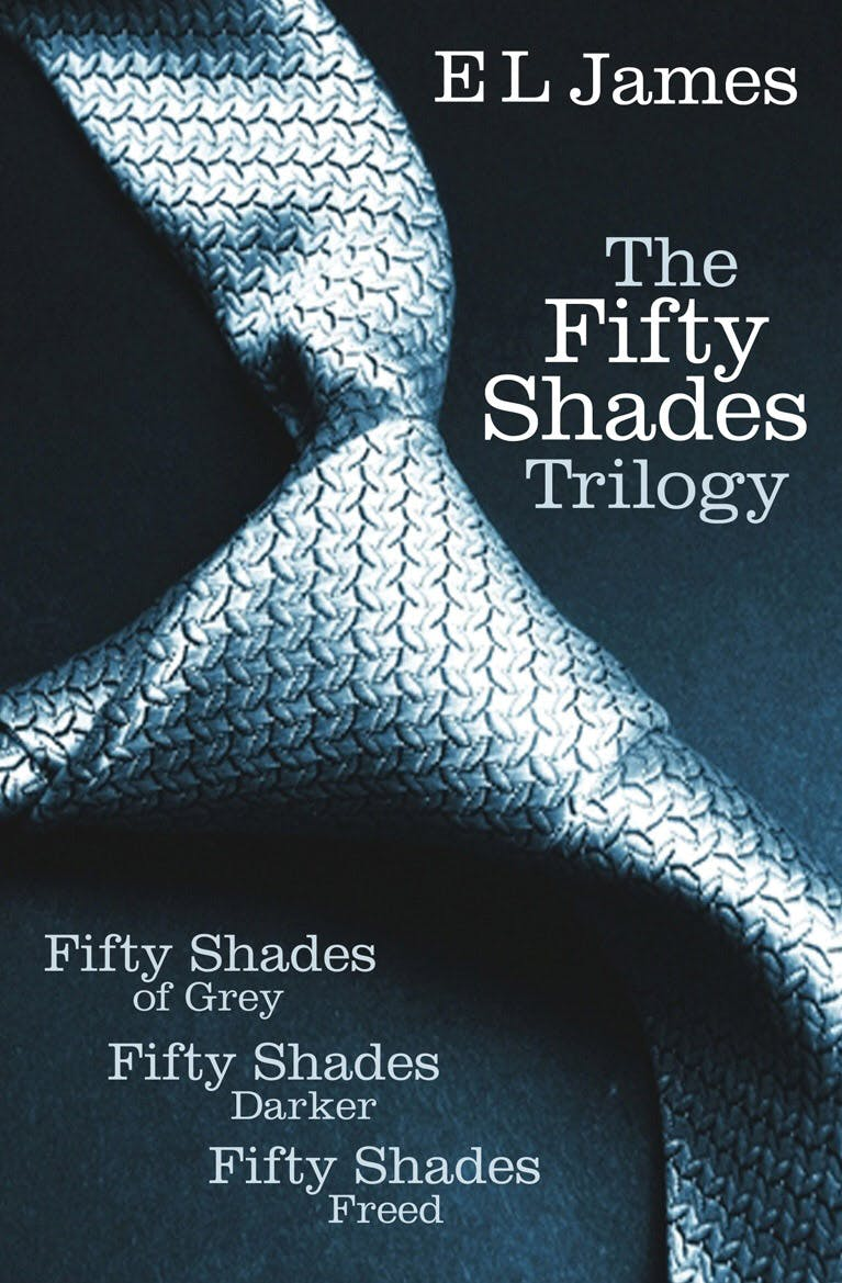 Fifty Shades of Grey, published by Random House
