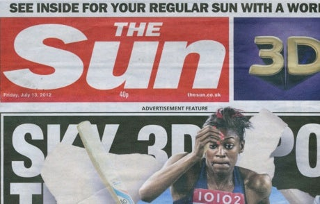 The Sun first cover wrap