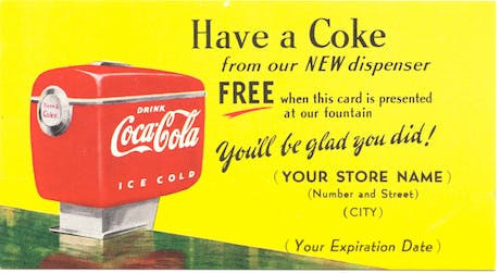 Coca Cola Coupon