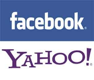 Facebook Yahoo