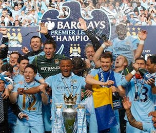 Manchester City win Premier League