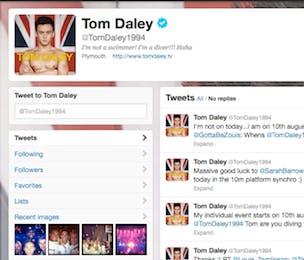Tom Daley Twitter