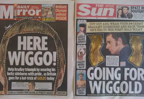 Wiggins Sideburns Sun Mirror