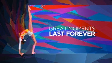Yahoo Gymnast Ad