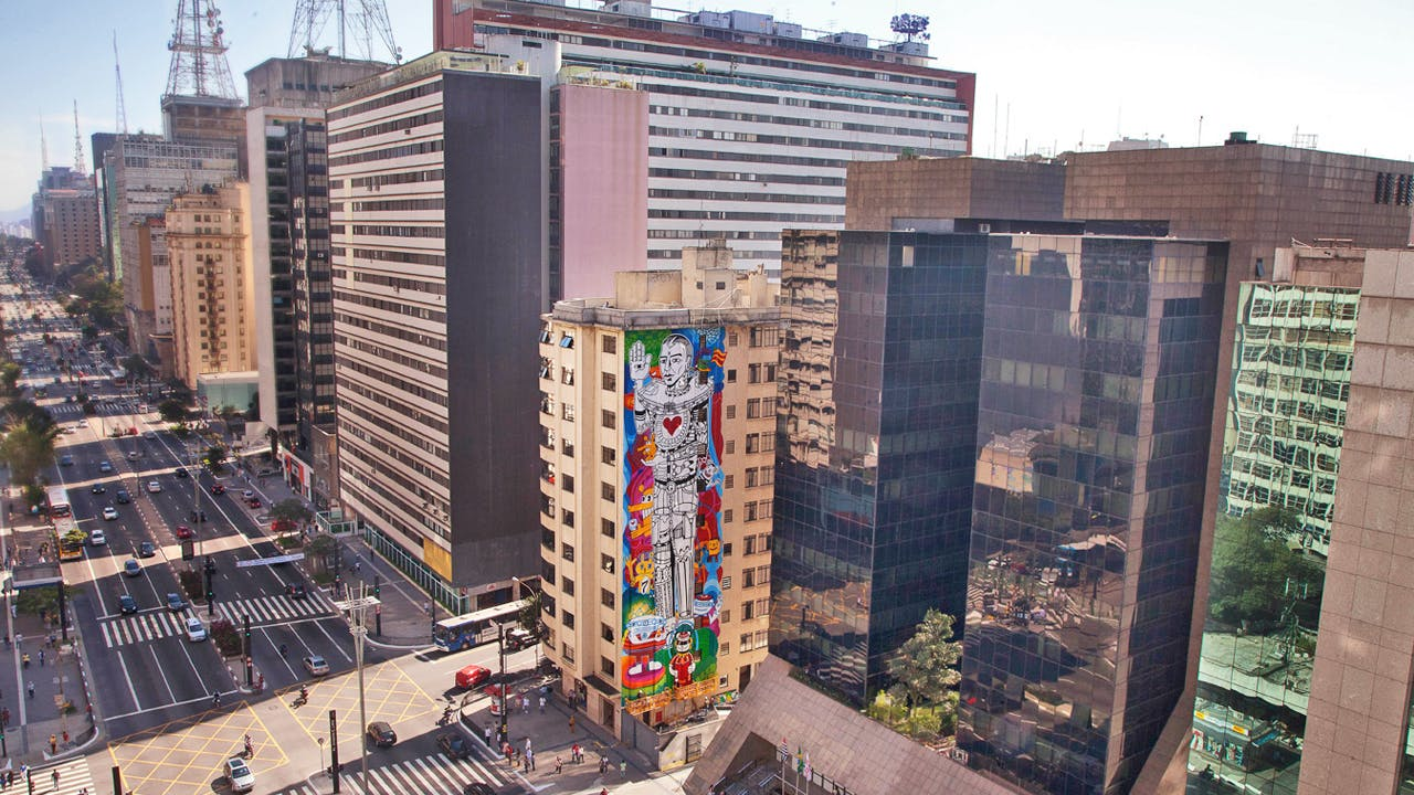 GE street art Sao Paulo