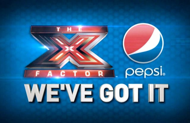 XFacor and Pepsi