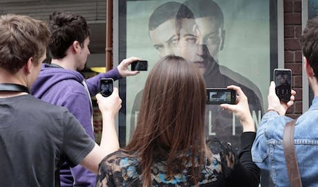 Ed Sheeran augmented reality