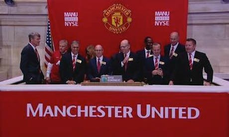Manchester United New York Stock Exchange