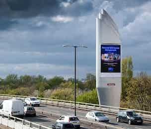 Sky outdoor ad