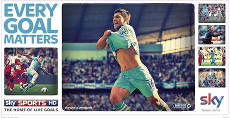 Sky Sports ad