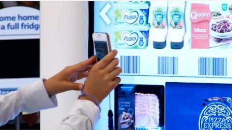 576bc8ad810d9 Tesco trials virtual shop at Gatwick – Marketing Week
