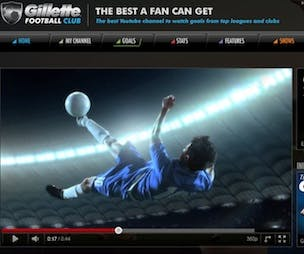 Gillette Football Club to launch on YouTube