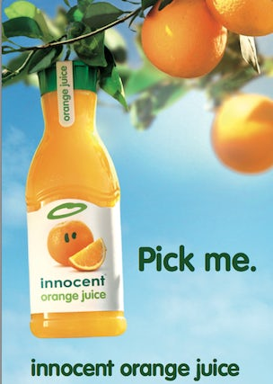 market positioning for juice