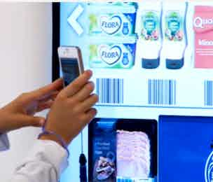 Tesco virtual shop