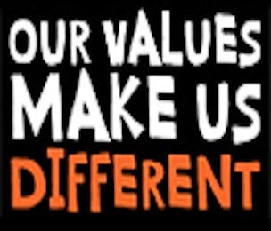 Sainsbury's Values Make Us Different