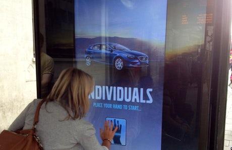 Volvo crowdsources content via interactive outdoor ads – Marketing Week