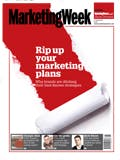 Marketing Week cover