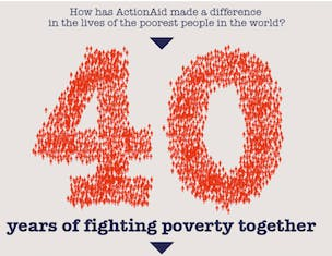 ActionAid UK celebrates 40 years