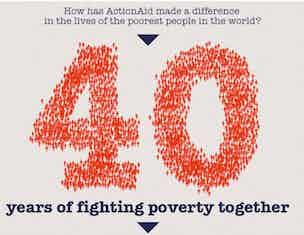ActionAid UK celebrates 40 years