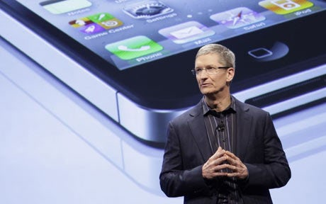 Tim Cook iPhone 5