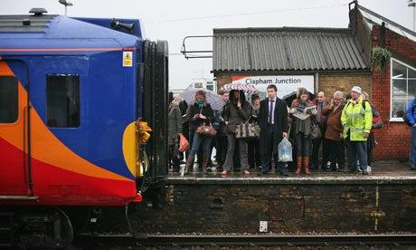 Commuters Clapham Junction